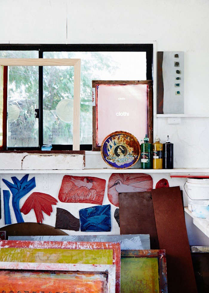 Screen-Printed Textiles from a Beachside Studio in Sydney
