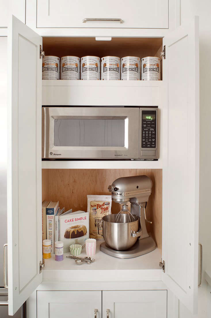 11 strategies for hiding the microwave remodelista rh remodelista com