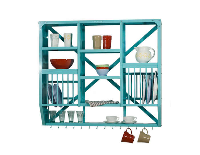Theyu0027re also getting ready to offer Painted Plate Racks in white and seafoam green.  sc 1 st  Remodelista & High/Low: The Indian Stainless Steel Dish Rack - Remodelista