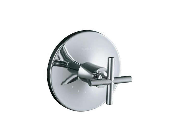 Kohler Purist 1 Handle Thermostatic Valve Trim Kit With Cross Handle