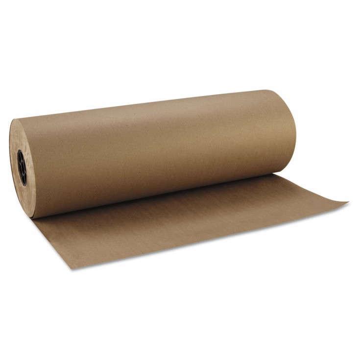 Blank Slate: Wall-Mounted Kraft Paper