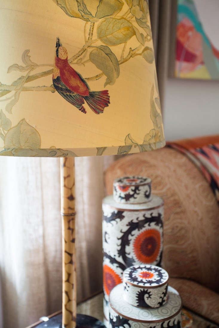 Above The Living Rooms Bird Lampshade And Cachepots Are From Jayson Home In Chicago We Moved To Ann Arbor Was My Go