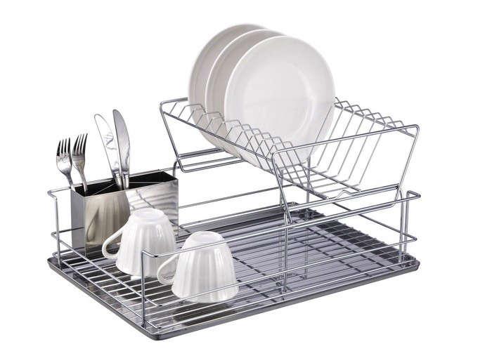 Stainless Steel Kitchen Sink Dish Rack