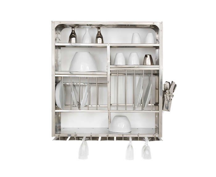 Highlow The Indian Stainless Steel Dish Rack Remodelista