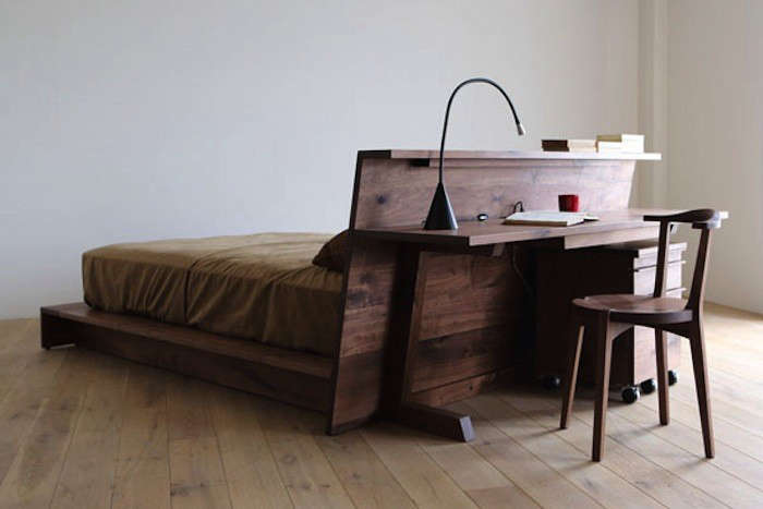 Small Space Solution Live Work Furniture From Hirashima