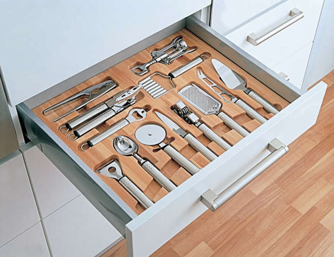 Kitchen Drawers Organizers mise en place: kitchen tool drawer organizers - remodelista