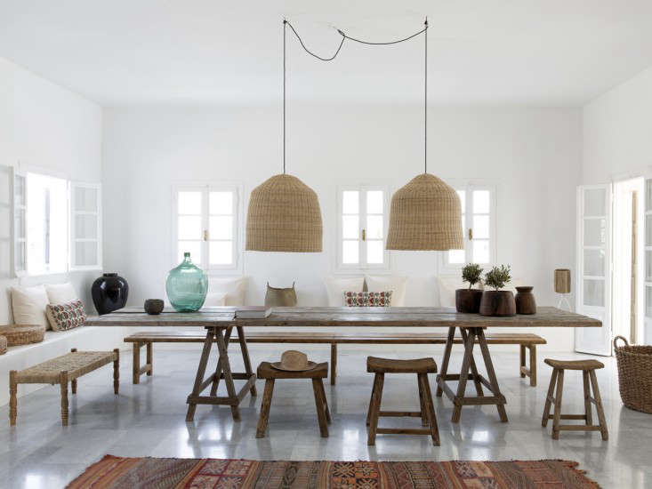 Design Sleuth 6 Summery Natural Fiber Pendant Lights