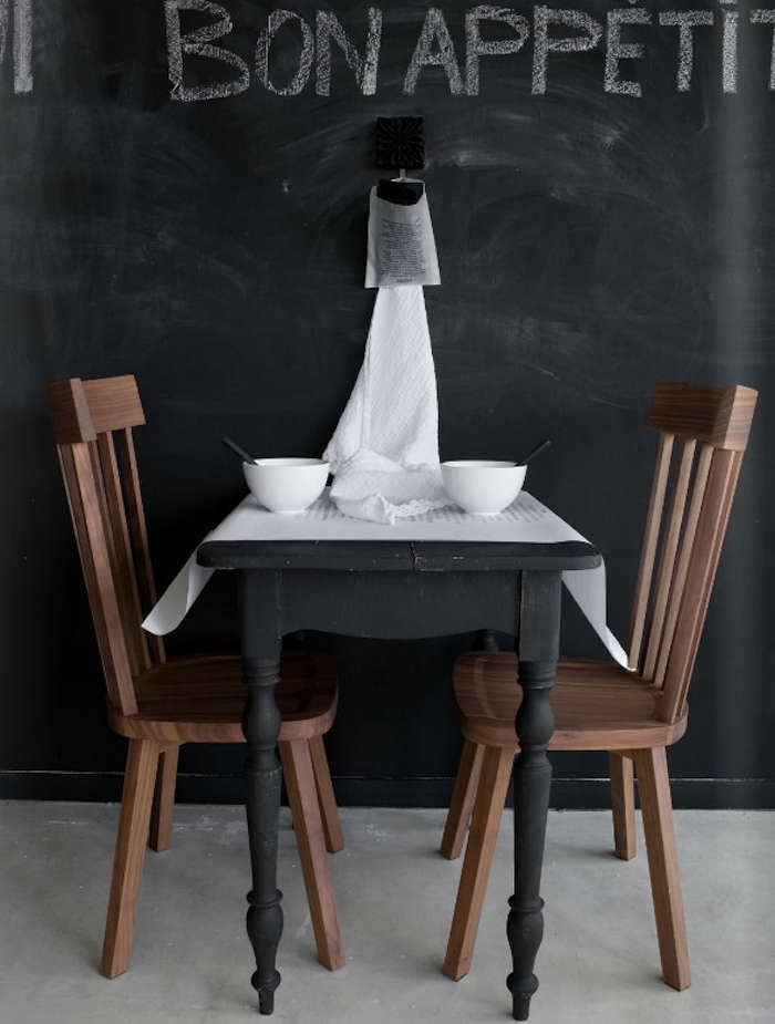 Greatest Palette & Paints: Matte Black Painted Furniture - Remodelista MR03