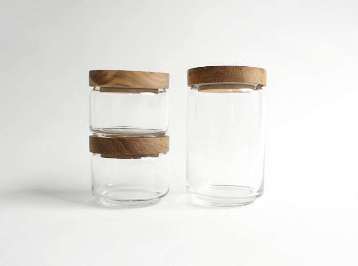 Above: Chabatree Jargala Jars Are Handmade From Mouth Blown Glass With  Sustainable Teak Wood Tops That Seal With A Rubber Ring; Available In  Small, $29, ...