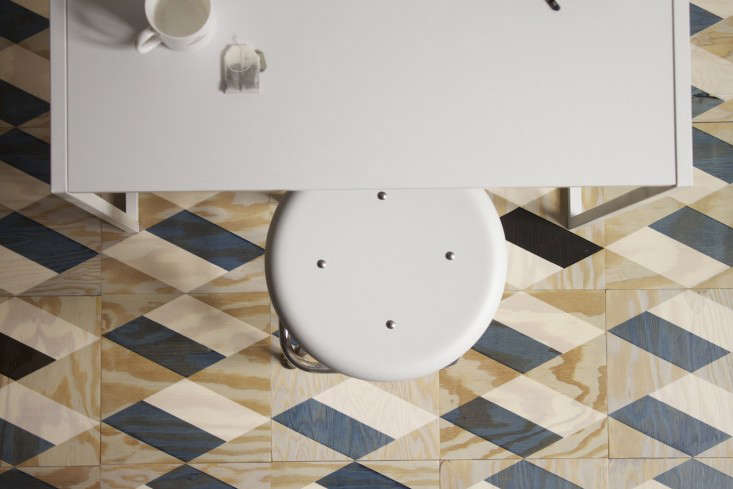Above Moonish Also Offers A Small Line Of Patterned Floor Tiles Made 3 4 Inch Thick Fir Plywood Each Is 12 By Inches And S For 26 Tile