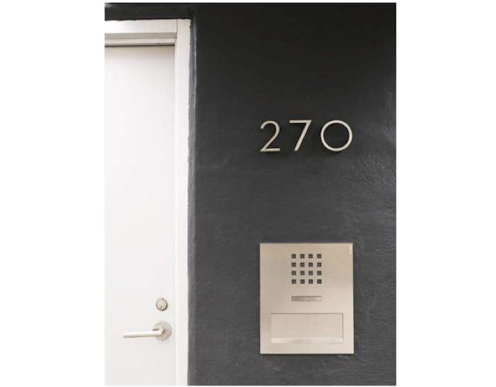 HighLow Modern House Numbers Remodelista