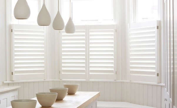 Cafe Shutters Are A Good Solution For Rooms That Don T Require Full Darkness And