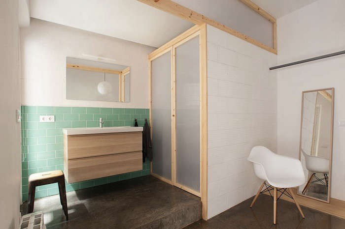 Design Sleuth: Ikea Vanity Installed by Nook Architects - Remodelista
