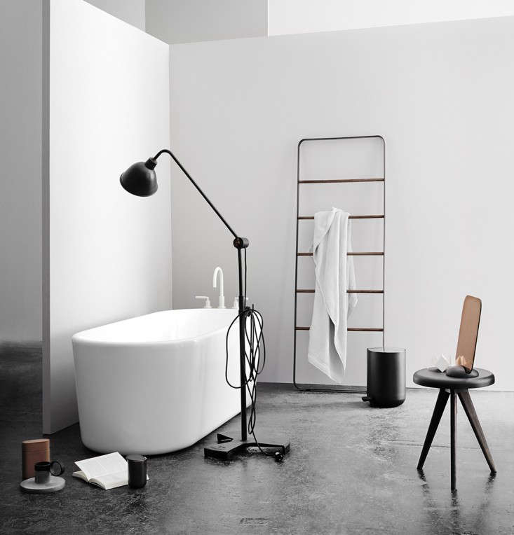 New Bath Hardware from Norm Architects: The Towel Ladder and More ...