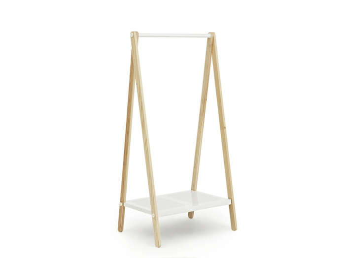 Above: The Toj Clothes Rack is a product of Danish design favorite Normann  Copenhagen. Created by Simon Legald for the company, the rack is made of  ash with ...