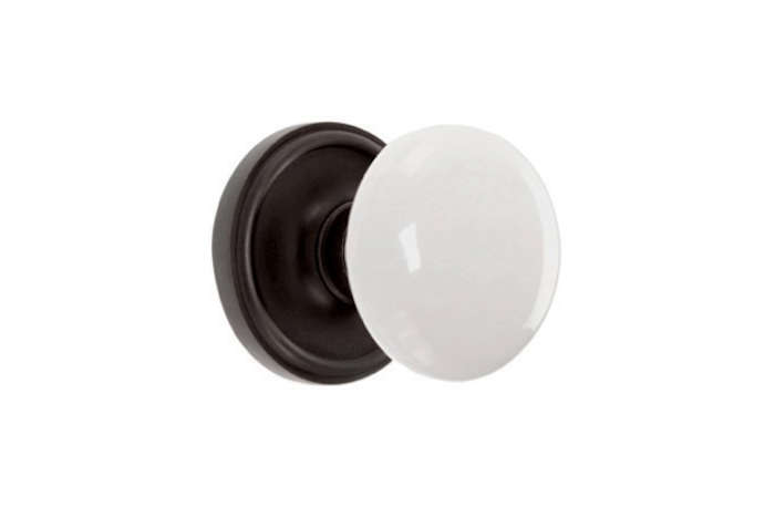 Delicieux Above: Emteku0027s Ice White Doorknob Set Is $96 From Low Price Doorknobs.
