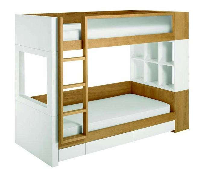 White Bed Frame With Storage