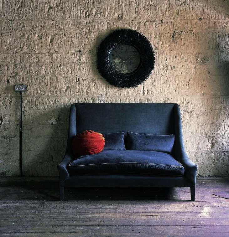 Surprising 10 Easy Pieces The Blue Velvet Sofa Luxe Edition Remodelista Lamtechconsult Wood Chair Design Ideas Lamtechconsultcom