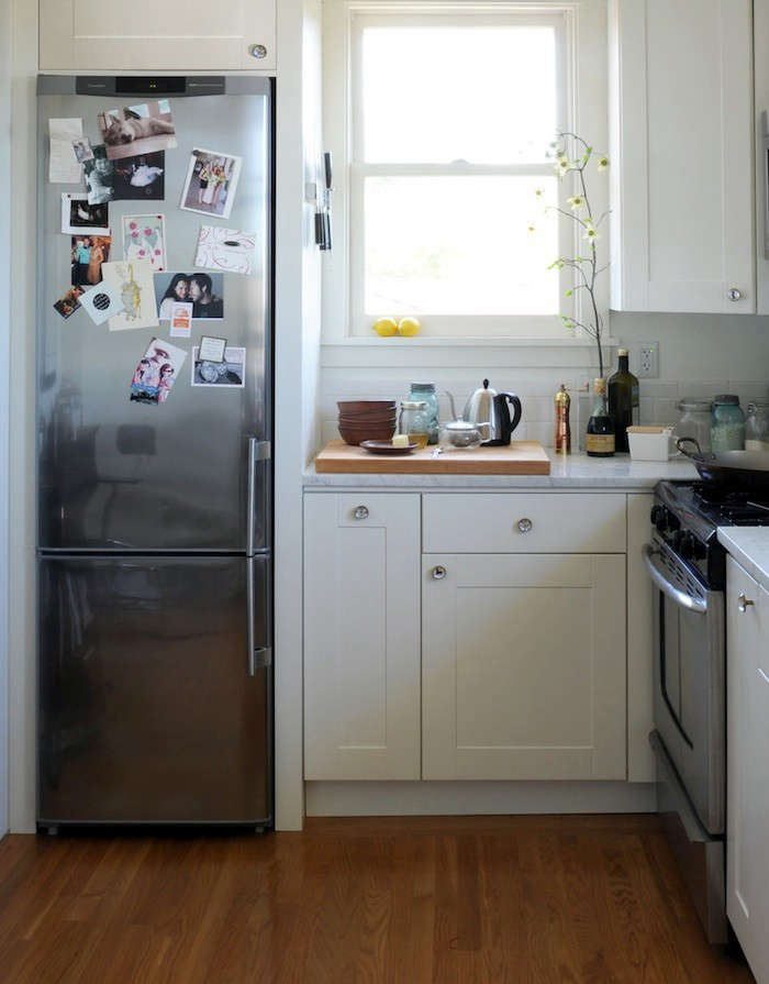 Beau Ore Studios Seattle And Santa Fe Smaller Refrigerator Compact Appliances In  Kitchen