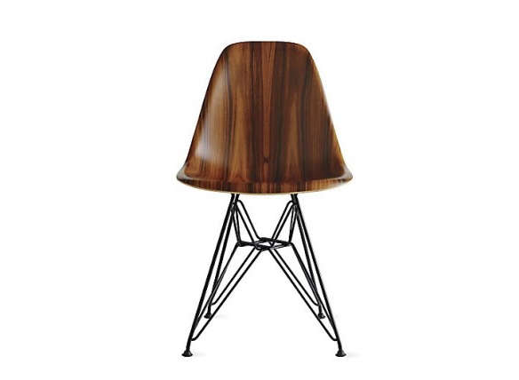 Incredible Eames Molded Wood Side Chair Beatyapartments Chair Design Images Beatyapartmentscom