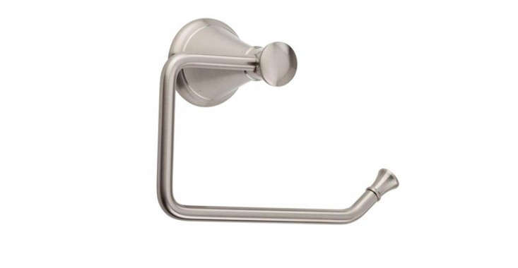 Fabulous Above The Pfister Pasadena Single Post Toilet Paper Holder in brushed nickel is at The Home Depot