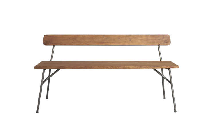 10 Easy Pieces: Modern Wooden Benches With Backs