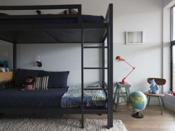 Industrial Loft Twin Over Twin Bunk Bed