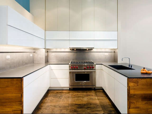 New York Firm RAAD Studio Introduce Warmth To A Modern Kitchen By Using  Hand Rubbed