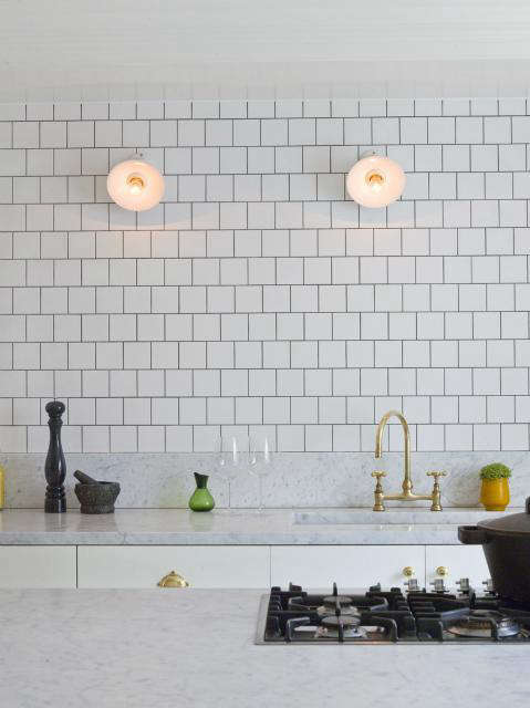 Above: London Designer Charles Mellersh Mixes Textures With Honed Marble  And White Ceramic Tiles. See Designer Visit: Charles Mellersh In London For  More.