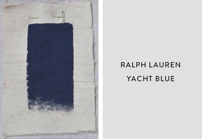 Above San Francisco Interior Designer Catherine Kwong Recommends Ralph Lauren S Yacht Blue A Deep Rich Navy Perfect As Backdrop For Artwork Or