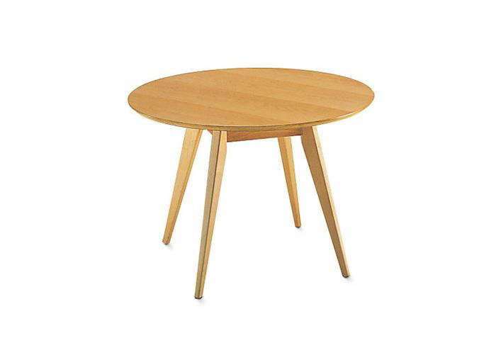 Best Above Danish master Jens Risom us inch Round Dining Table is from DWR available in walnut maple and ebonized walnut
