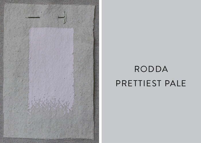 Above: Interior designer (and recent Pacific Northwest transplant) Carole Magness has taken a liking to Rodda paint, based in Portland, OR.