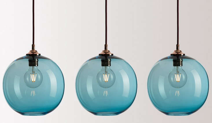 Above  UK designers Rothschild   Bickers make their Pick n Mix Lights in a  range of colors and shapes  starting at  295  439 79 10 Easy Pieces  Colorful Glass Pendant Lights   Remodelista. Discount Pendant Lighting Uk. Home Design Ideas