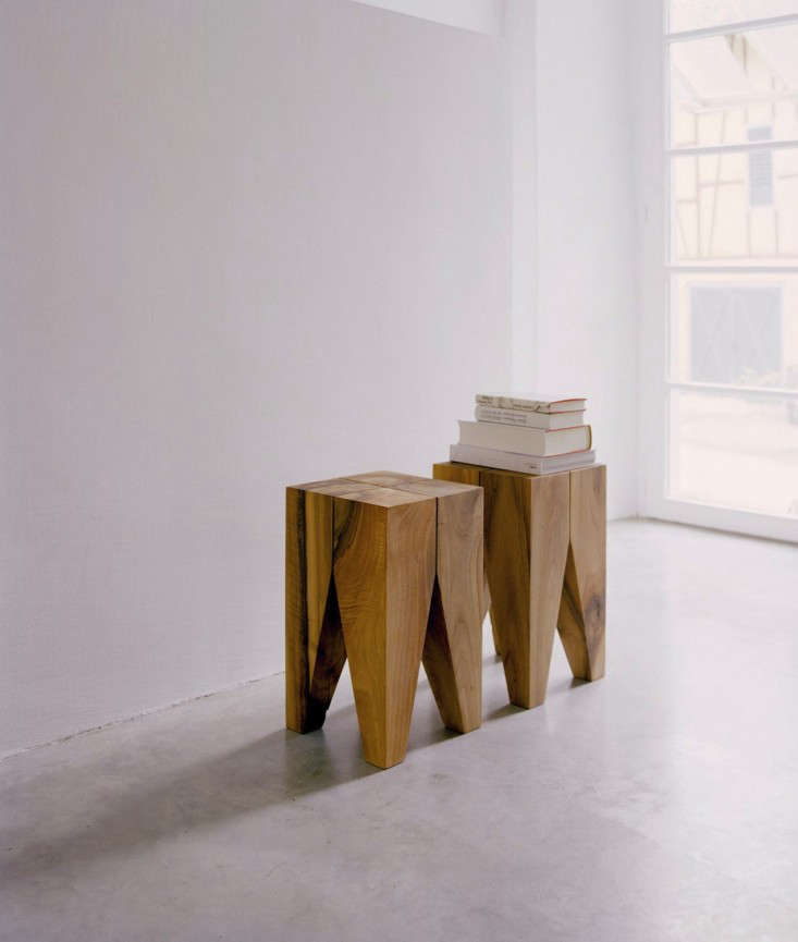 Wood. 10 Easy Pieces  Solid Block Side Tables   Remodelista