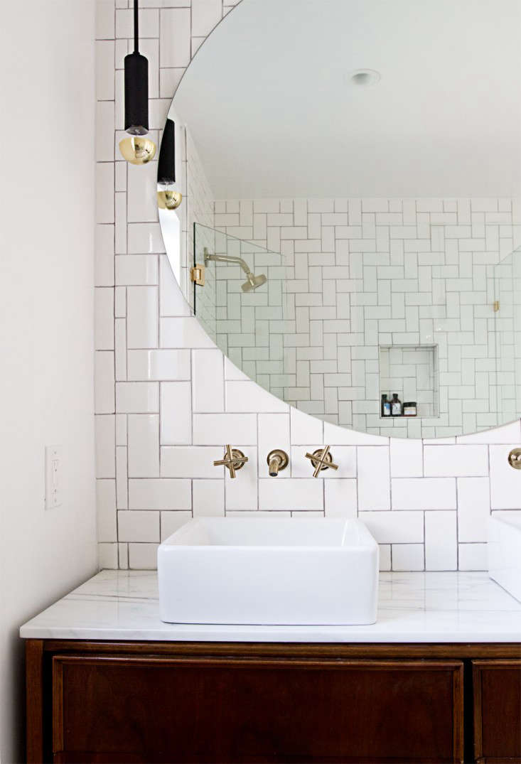 Rehab Diary: A Spare Bedroom Turned Glam Master Bath - Remodelista