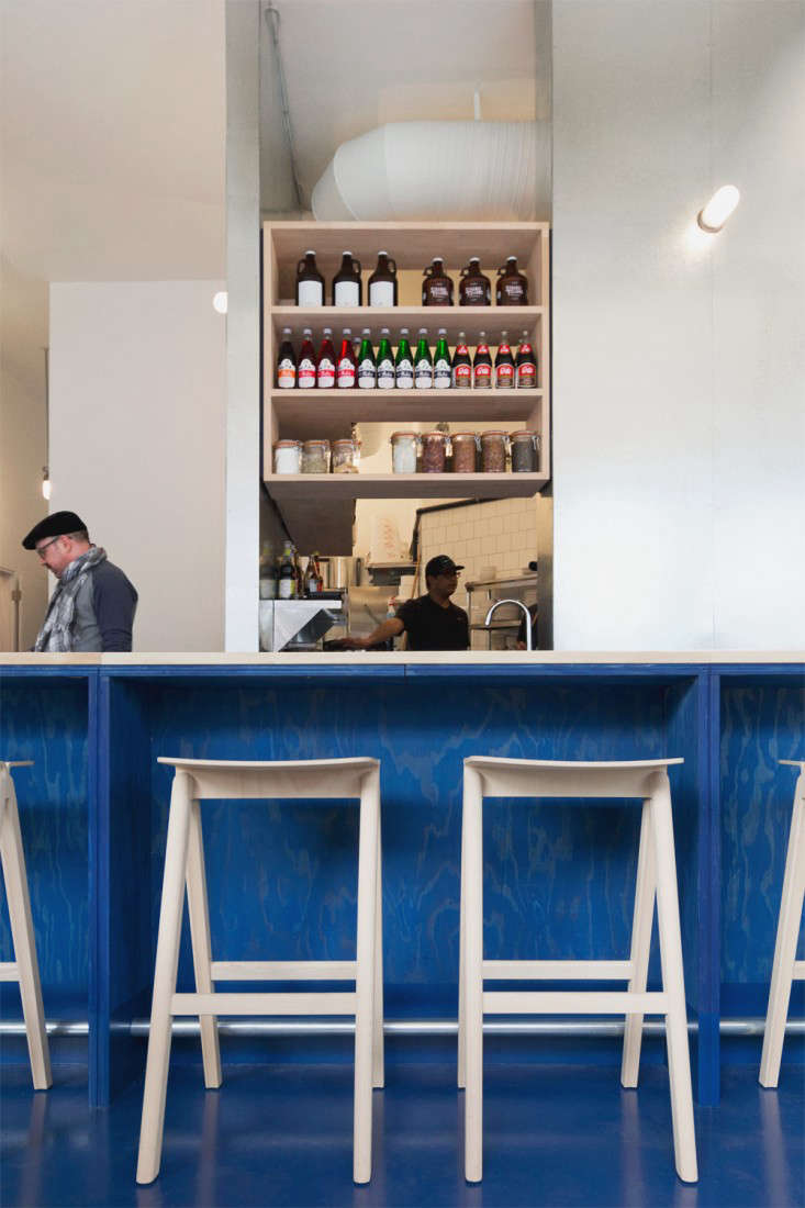 paint it blue a new wave thai restaurant in vancouver remodelista