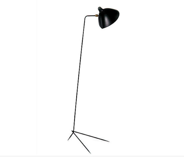 Serge mouille one arm floor lamp Serge mouille three arm floor lamp