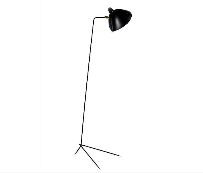 Serge mouille one arm floor lamp Serge mouille three arm floor lamp