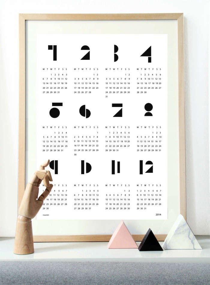 5 Favorites 2014 Wall Calendars Remodelista