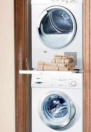 Bosch Washing Machine Stackable little giants: compact washers and dryers - remodelista
