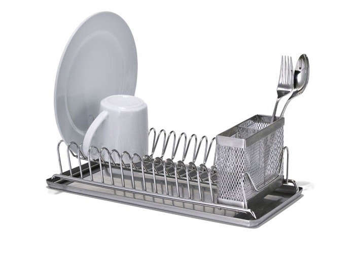 Wonderful Above: The Core Bamboo Dish Rack With Utensil Holder; $39.03 Through Amazon.