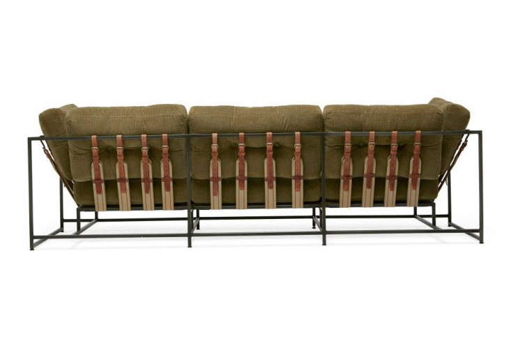 The Cord Sofa Is Made In LA Using Truck Furnitureu0027s Olive Green Wide Wale  Corduroy From Japan; $6,500. Read More About Truck Furniture Here.