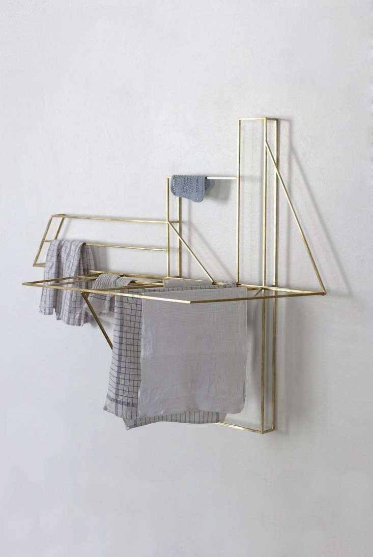 Foldwork: Drying Rack as Sculpture