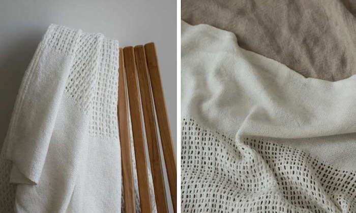 96eda0ad47 10 Easy Pieces  Lightweight Cotton Blankets - Remodelista