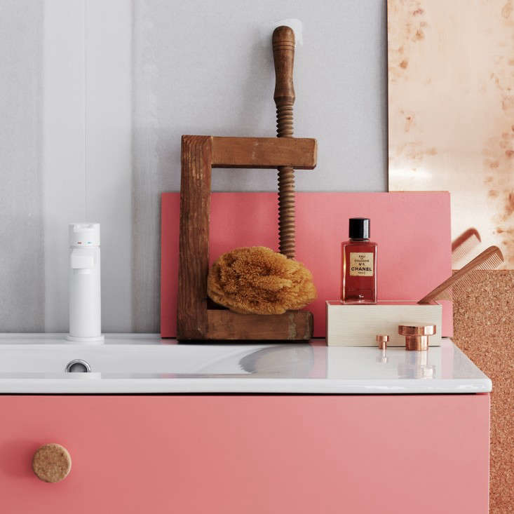 Colorful, Customizable Bathroom Furniture from Sweden