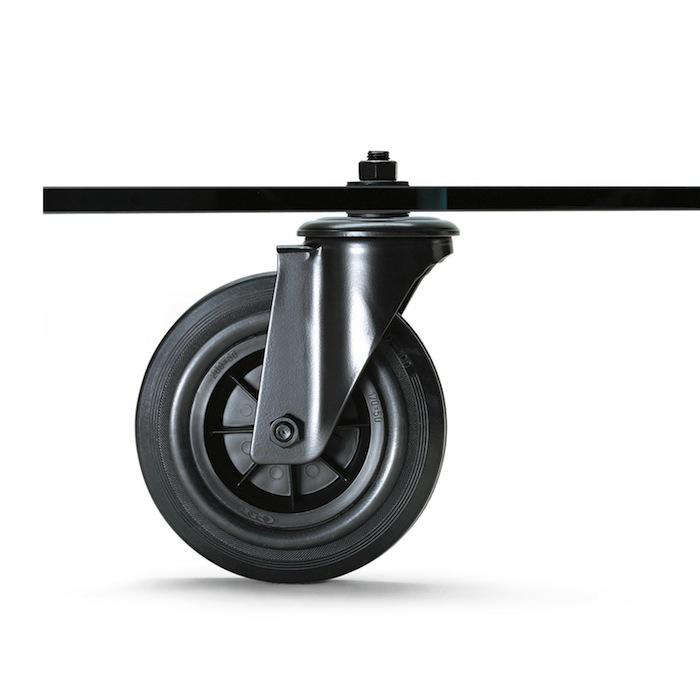 For Those Who Prefer The Look Of New Casters, Consider Ordering Two Pairs  From McMaster Carr (which Carries Endless Options In Different Dimensions,  ...