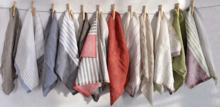 Life Changing Kitchen Linens Remodelista