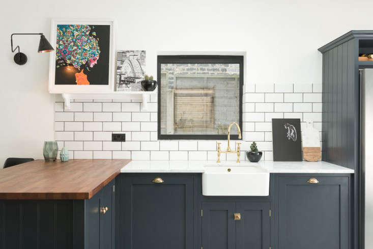 kitchen of the week: a shaker-inspired kitchen in east dulwich