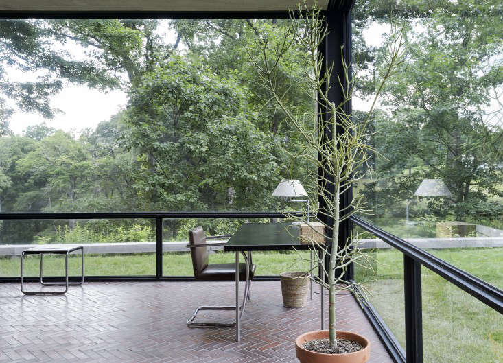 Alexa visited Philip Johnson's Glass House in New Canaan, Connecticut, recently (see14 lessons to learnfrom Johnson). Photograph by Matthew Williams for Remodelista.