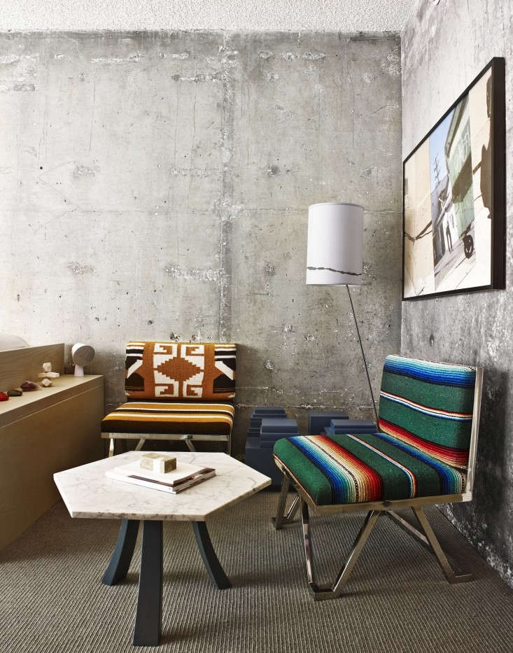 The Line Hotel concrete chic: the line hotel in la's koreatown - remodelista